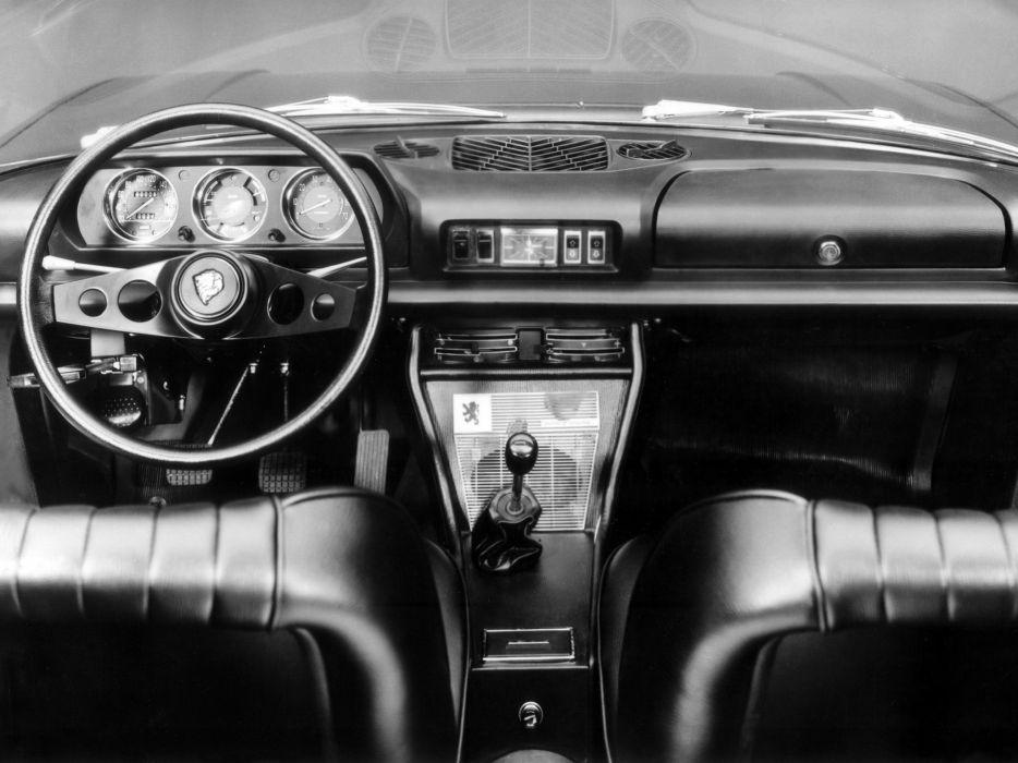 1969-74 Peugeot 504 Coupe classic interior      g wallpaper