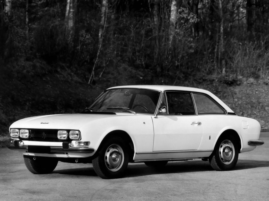 1969-74 Peugeot 504 Coupe classic  gd wallpaper