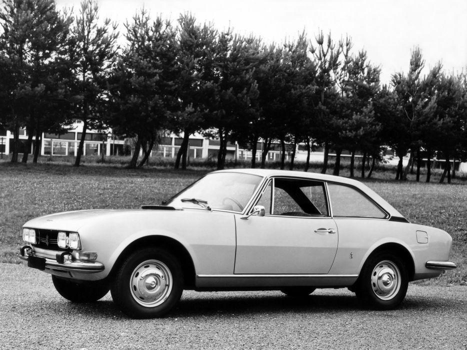 1969-74 Peugeot 504 Coupe classic      g wallpaper