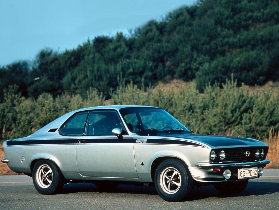 1974 Opel Manta GTE       g wallpaper