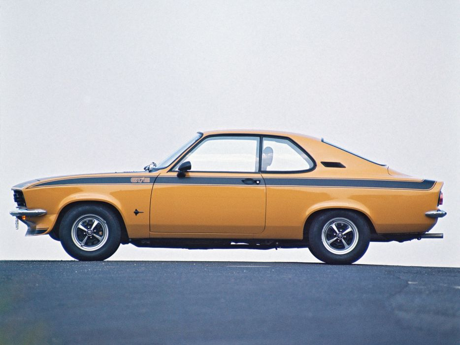 1974 Opel Manta GTE    t wallpaper