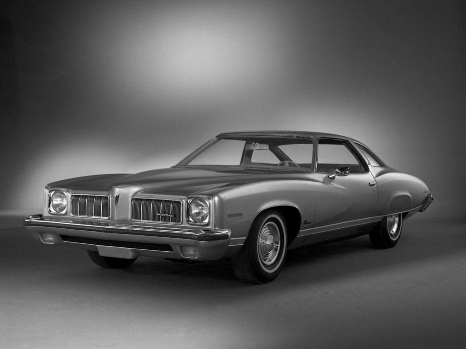 1973 Pontiac Luxury LeMans Colonnade Hardtop Coupe (G37) classic   f wallpaper