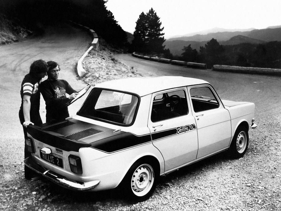 1976 Simca 1000 Rallye 2       g wallpaper