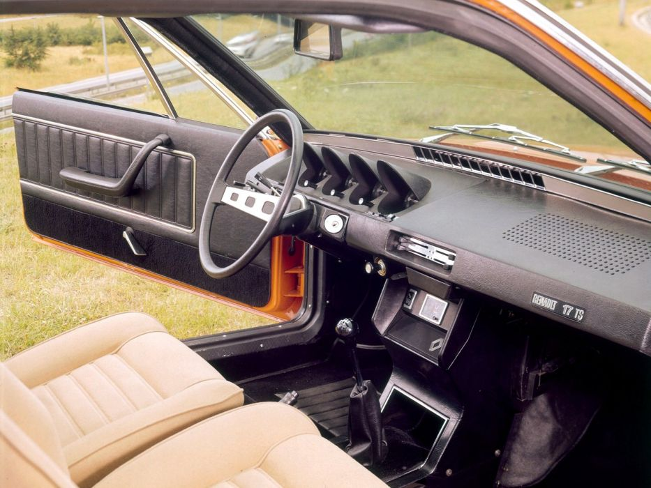 1976 Renault 1-7 interior       g wallpaper
