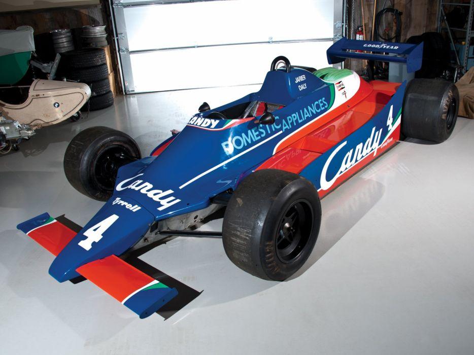 1980-81 Tyrrell 010 formula f-1 race racing g wallpaper