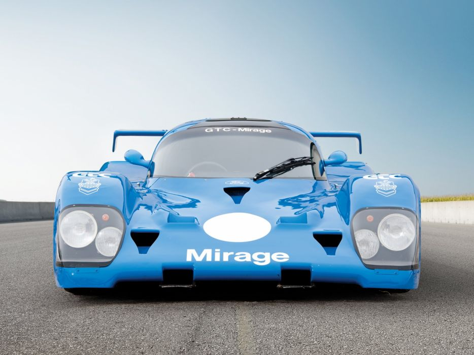 1982 Mirage M12 Group-C Sports Prototype le-mans race racing    j wallpaper