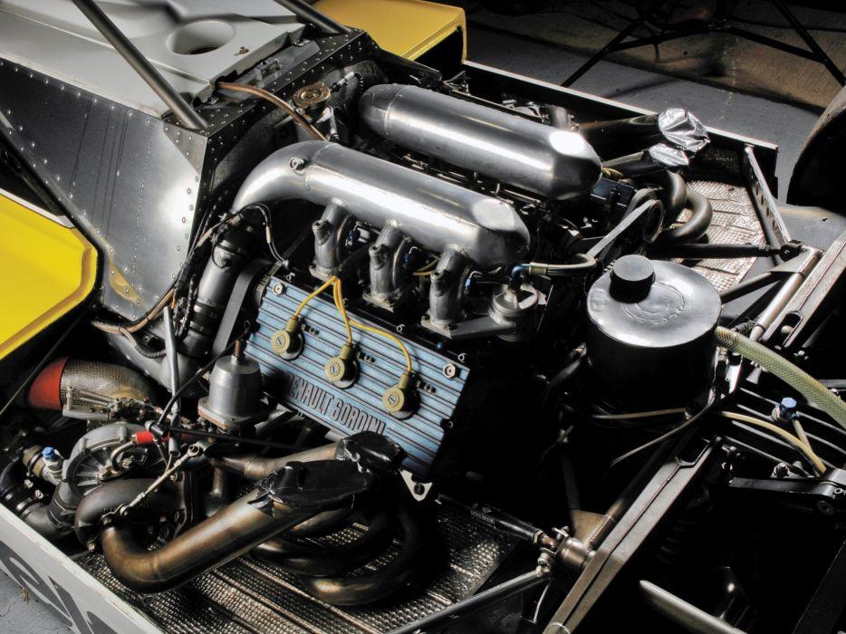 1982 Renault RE30B formula f-1 race racing engine    f wallpaper