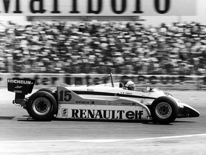 1982 Renault RE30B formula f-1 race racing g wallpaper