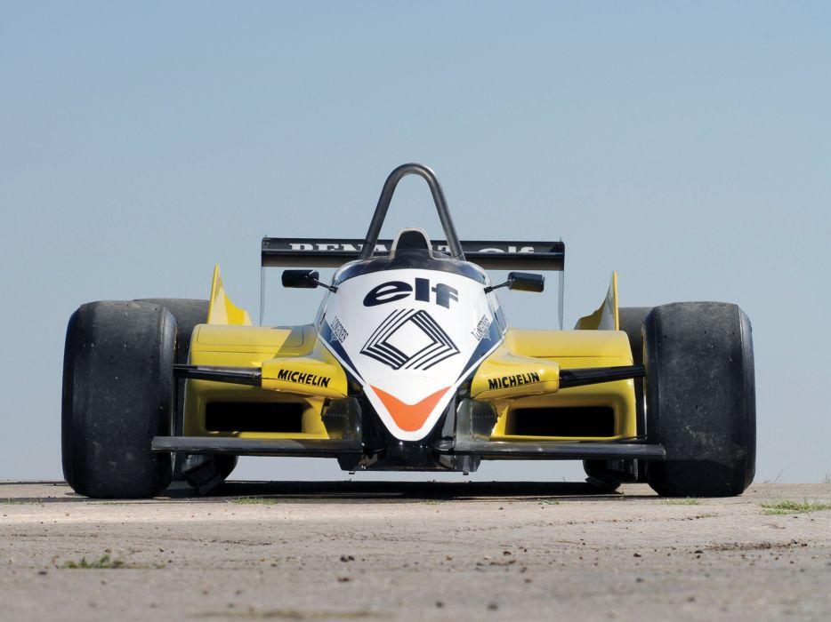 1982 Renault RE30B formula f-1 race racing  f wallpaper
