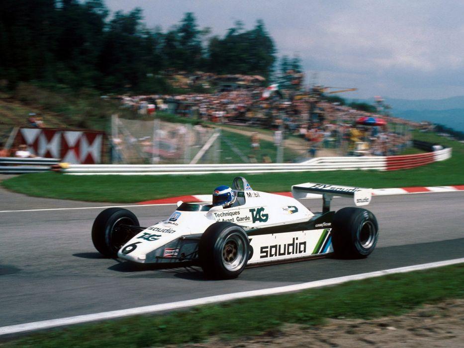 1982 Williams FW08B formula f-1 race racing  g wallpaper