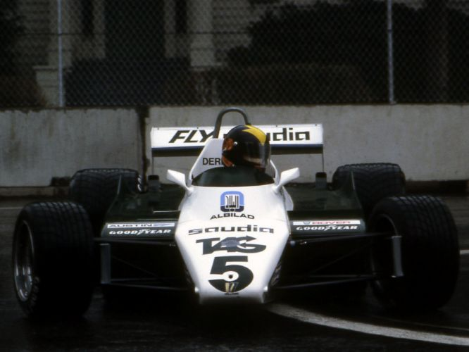 1982 Williams FW08B formula f-1 race racing fd wallpaper