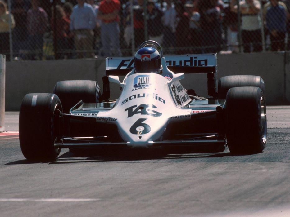 1982 Williams FW08B formula f-1 race racing  f wallpaper