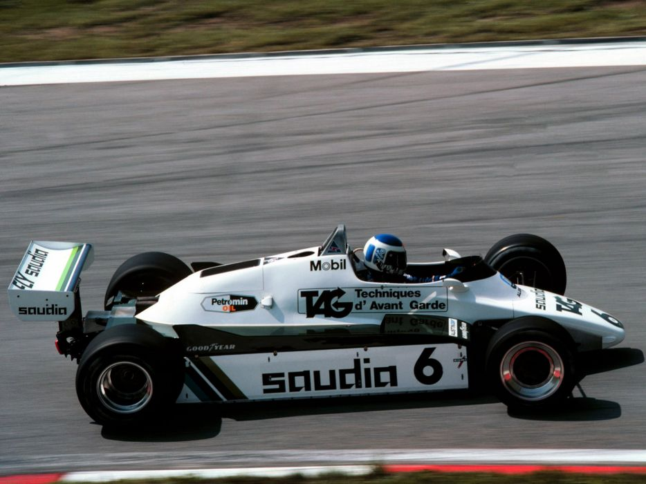 1982 Williams FW08B formula f-1 race racing   g wallpaper