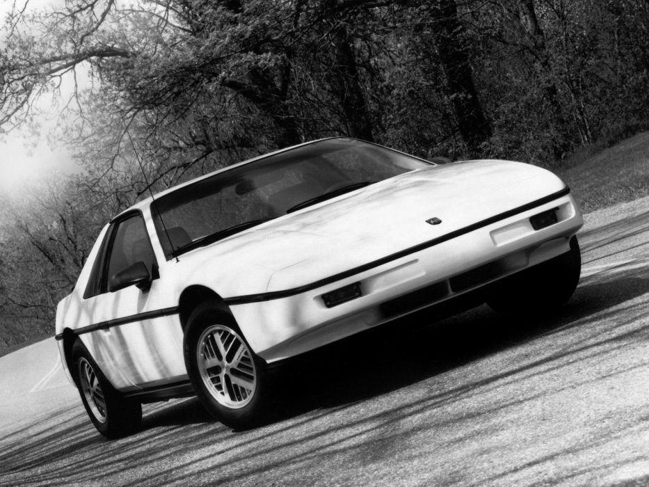 1986 Pontiac Fiero    g wallpaper