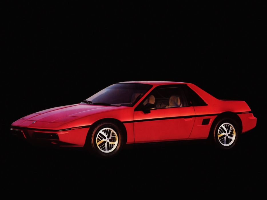 1984 Pontiac Fiero        f wallpaper