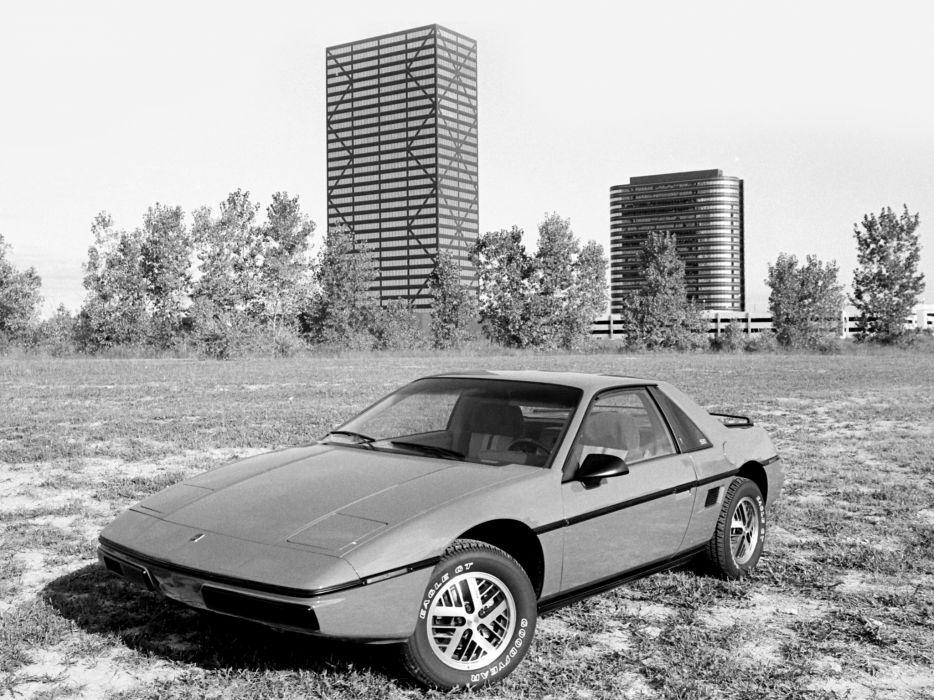 1984 Pontiac Fiero  f wallpaper