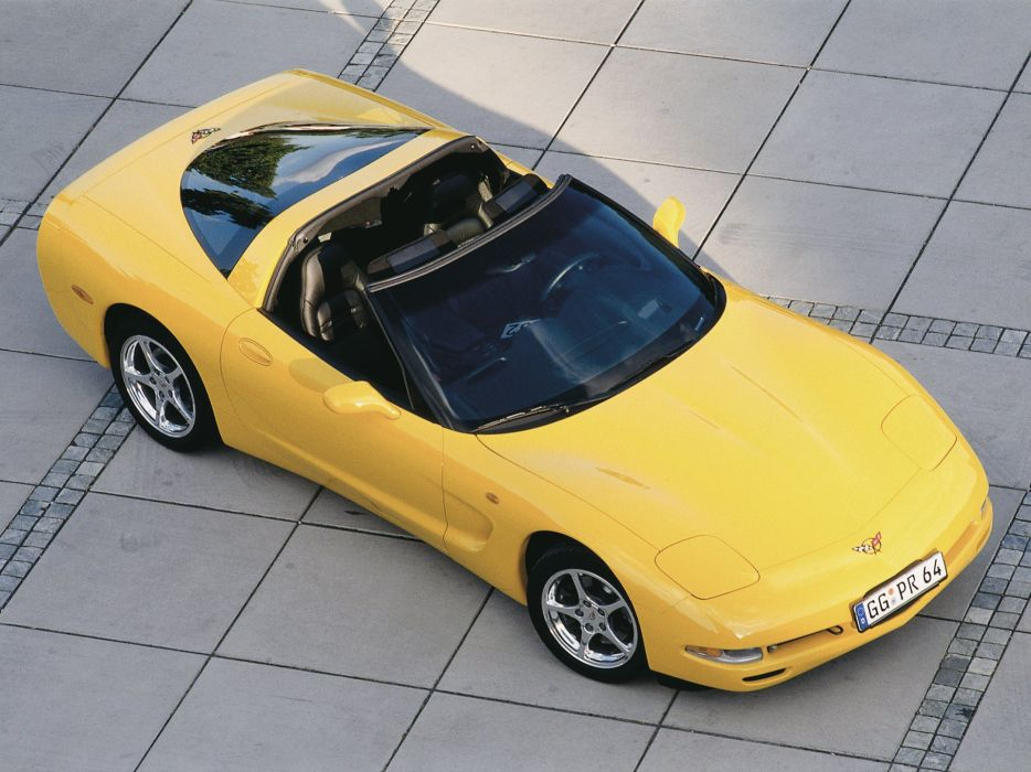 1997-04 Chevrolet Corvette Coupe EU-spec (C-5) supercar muscle interior   g wallpaper