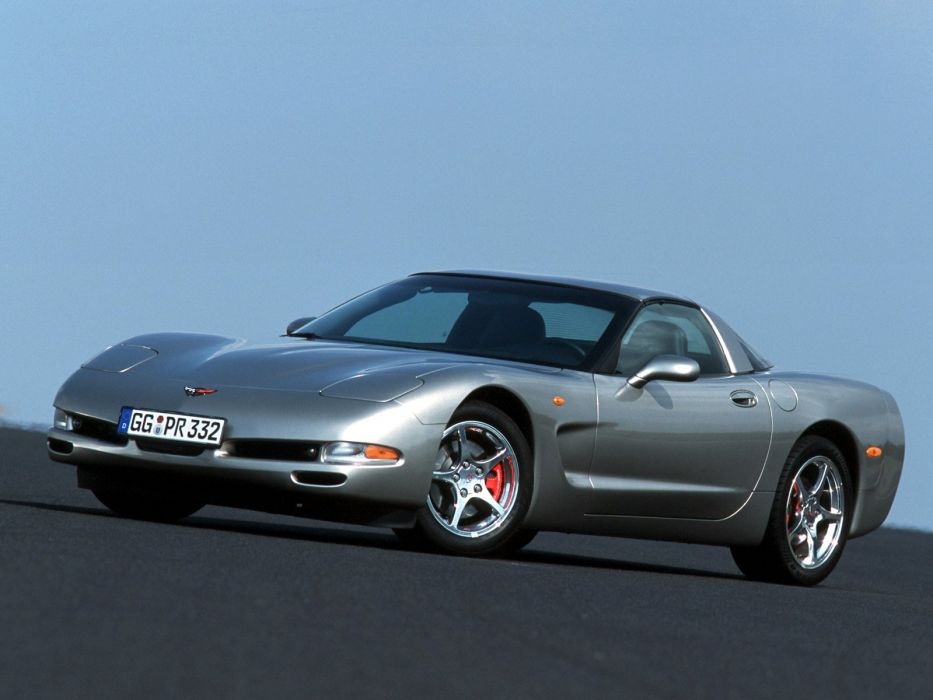 1997-04 Chevrolet Corvette Coupe EU-spec (C-5) supercar muscle  g wallpaper