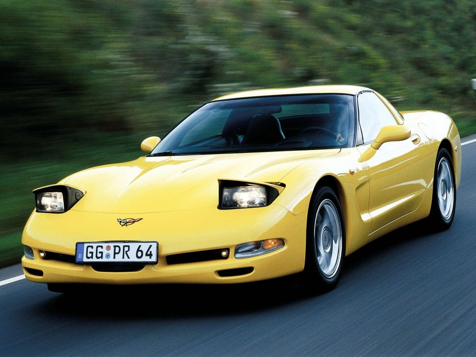1997-04 Chevrolet Corvette Coupe EU-spec (C-5) supercar muscle  rm wallpaper