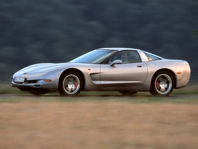 1997-04 Chevrolet Corvette Coupe EU-spec (C-5) supercar muscle nv wallpaper