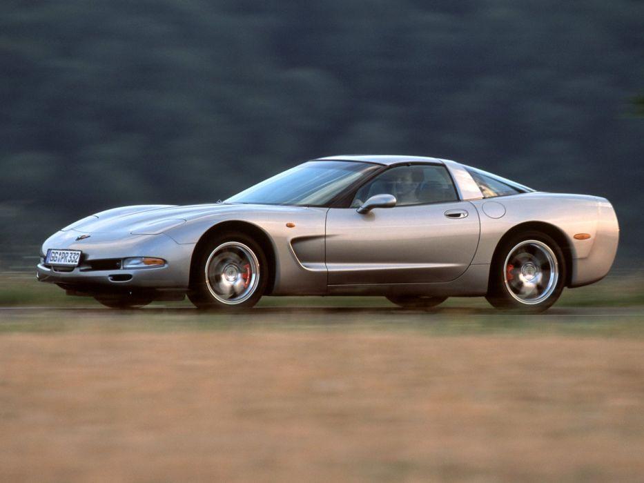 1997-04 Chevrolet Corvette Coupe EU-spec (C-5) supercar muscle  nv wallpaper