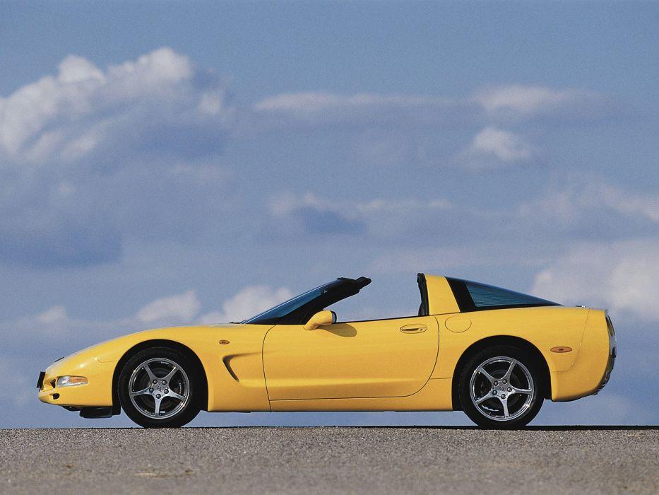 1997-04 Chevrolet Corvette Coupe EU-spec (C-5) supercar muscle   hf wallpaper