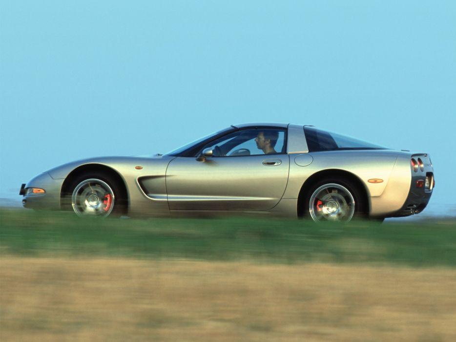 1997-04 Chevrolet Corvette Coupe EU-spec (C-5) supercar muscle   h wallpaper