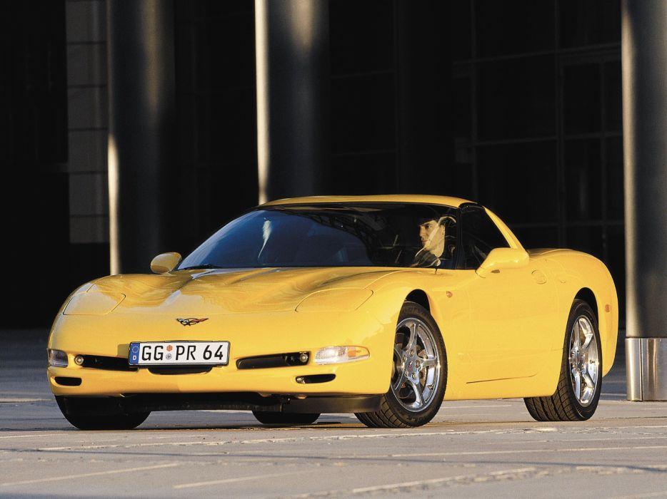1997-04 Chevrolet Corvette Coupe EU-spec (C-5) supercar muscle   f wallpaper