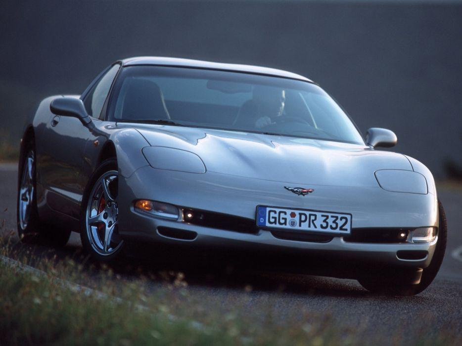 1997-04 Chevrolet Corvette Coupe EU-spec (C-5) supercar muscle   gd wallpaper