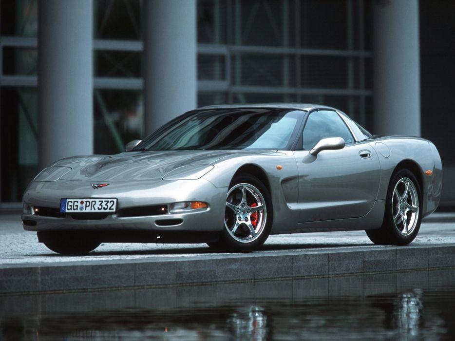 1997-04 Chevrolet Corvette Coupe EU-spec (C-5) supercar muscle    g wallpaper