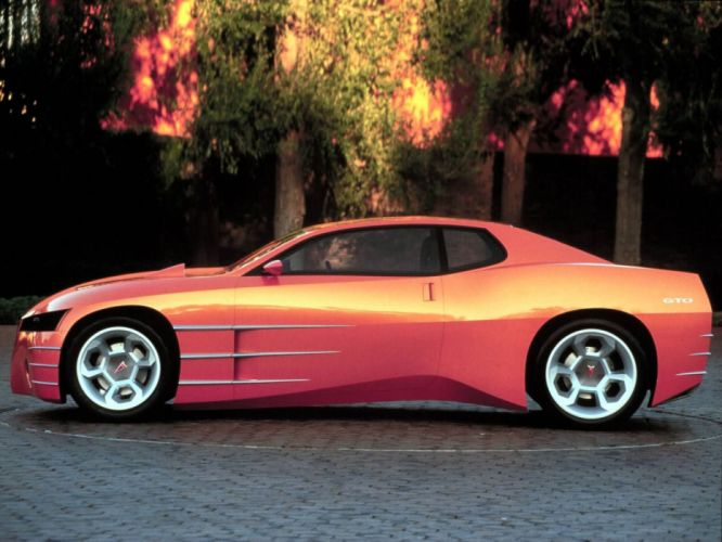 1999 Pontiac GTO Concept muscle supercar f wallpaper
