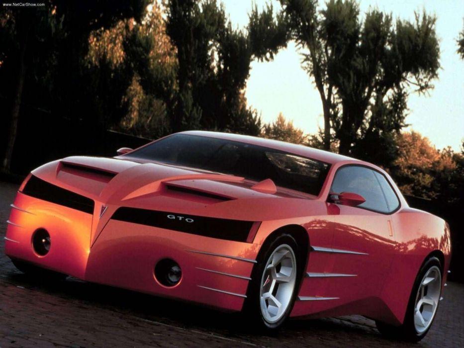 1999 Pontiac GTO Concept muscle supercar       f wallpaper