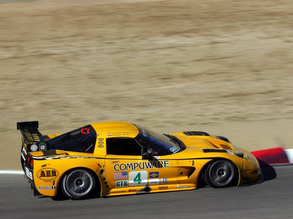 2001-04 Chevrolet ALMS GT1 C5R Corvette race racing supercar  m wallpaper