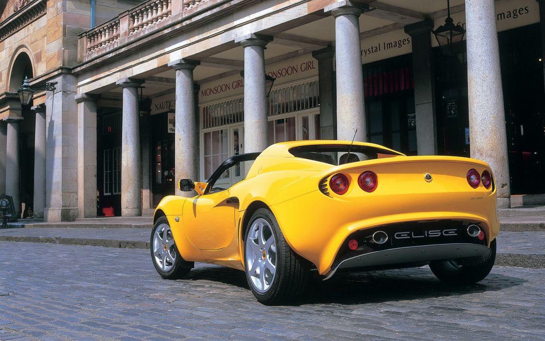 2002 Lotus Elise supercar  gd wallpaper