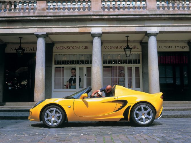 2002 Lotus Elise supercar g wallpaper