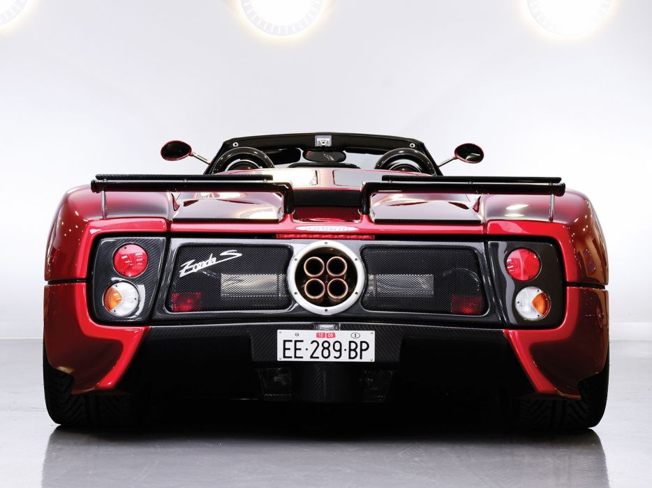 2003 Pagani Zonda Roadster supercar   g wallpaper