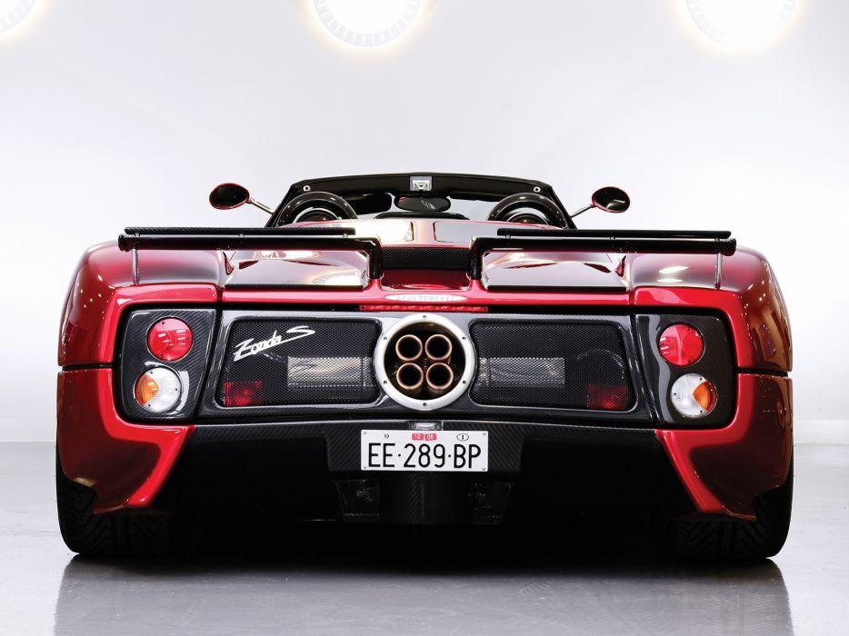 2003 Pagani Zonda Roadster supercar   g wallpaper