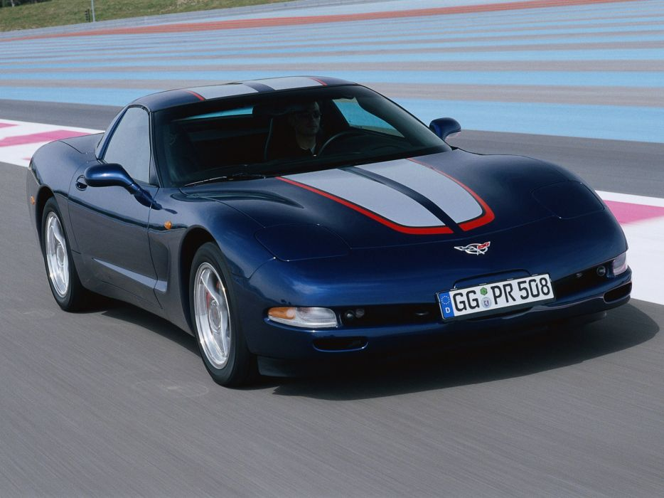 2004 Chevrolet Corvette Coupe EU-spec c-5 muscle supercar f wallpaper