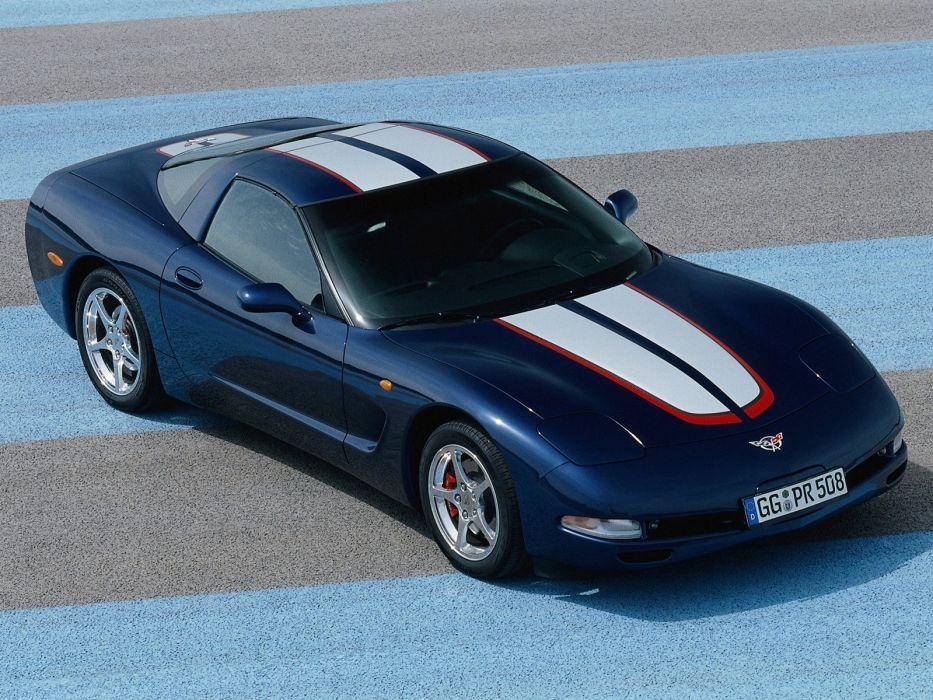 2004 Chevrolet Corvette Coupe EU-spec c-5 muscle supercar   fs wallpaper