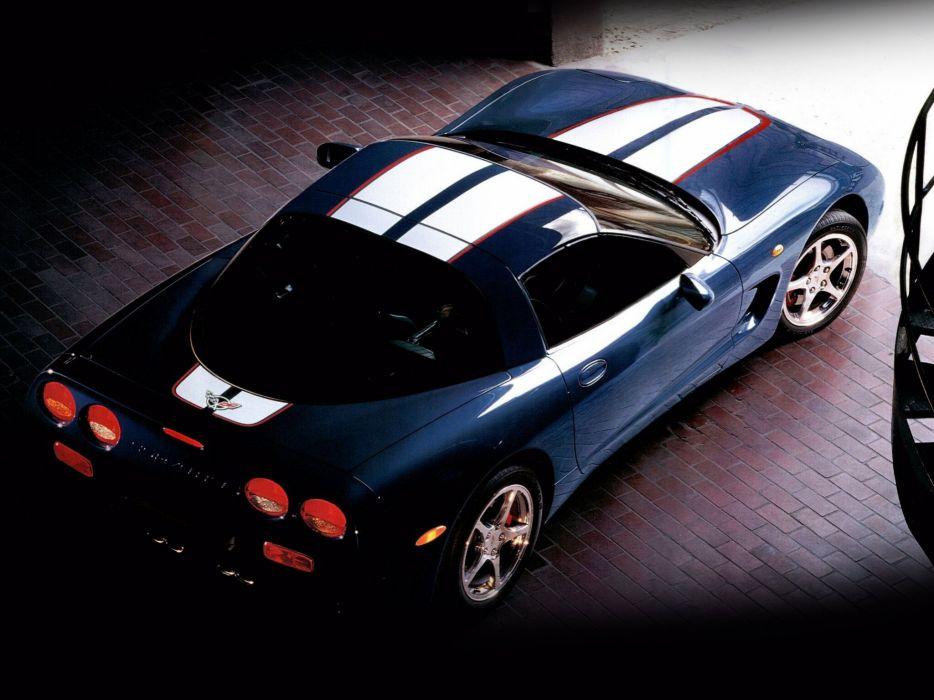 2004 Chevrolet Corvette Coupe EU-spec c-5 muscle supercar  f wallpaper