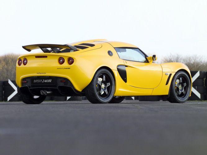 2005 Lotus Exige Sport 240R supercar f wallpaper