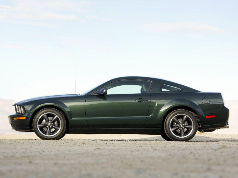 2008 Ford Mustang Bullitt muscle h wallpaper