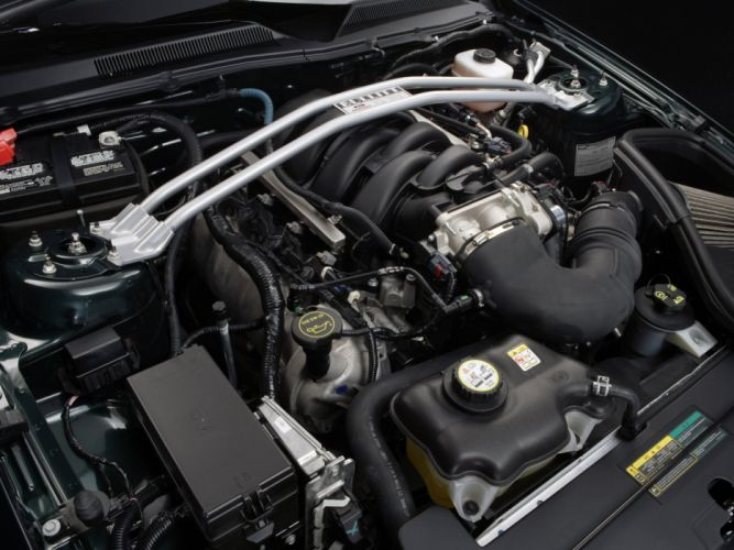 2008 Ford Mustang Bullitt muscle engine j wallpaper