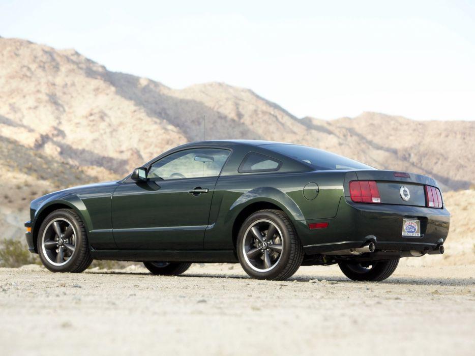 2008 Ford Mustang Bullitt muscle jf wallpaper