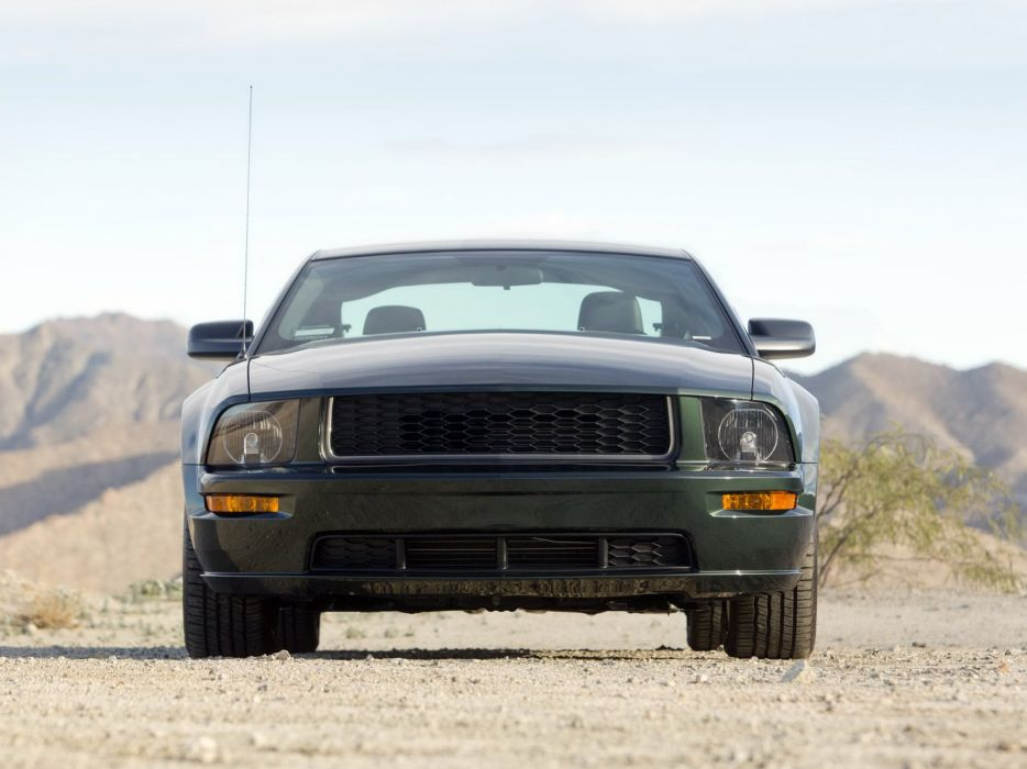 2008 Ford Mustang Bullitt muscle j wallpaper