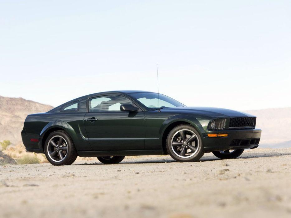 2008 Ford Mustang Bullitt muscle  k wallpaper