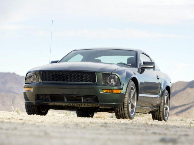 2008 Ford Mustang Bullitt muscle jg wallpaper