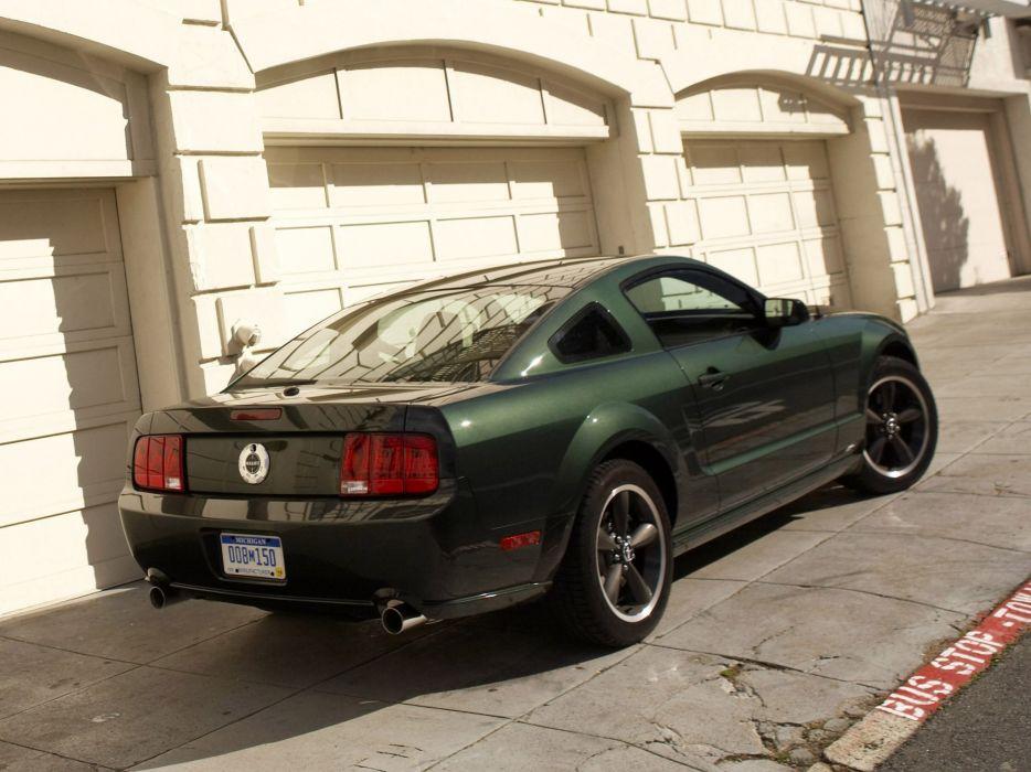 2008 Ford Mustang Bullitt muscle   l wallpaper