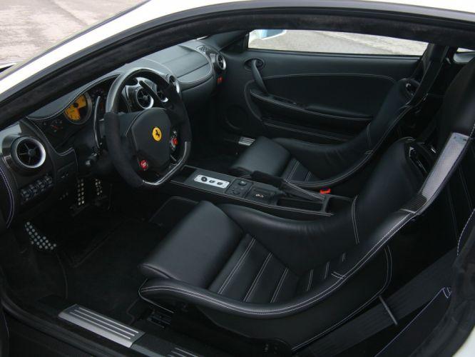 2009 Novitec Rosso Ferrari F430 supercar interior f wallpaper