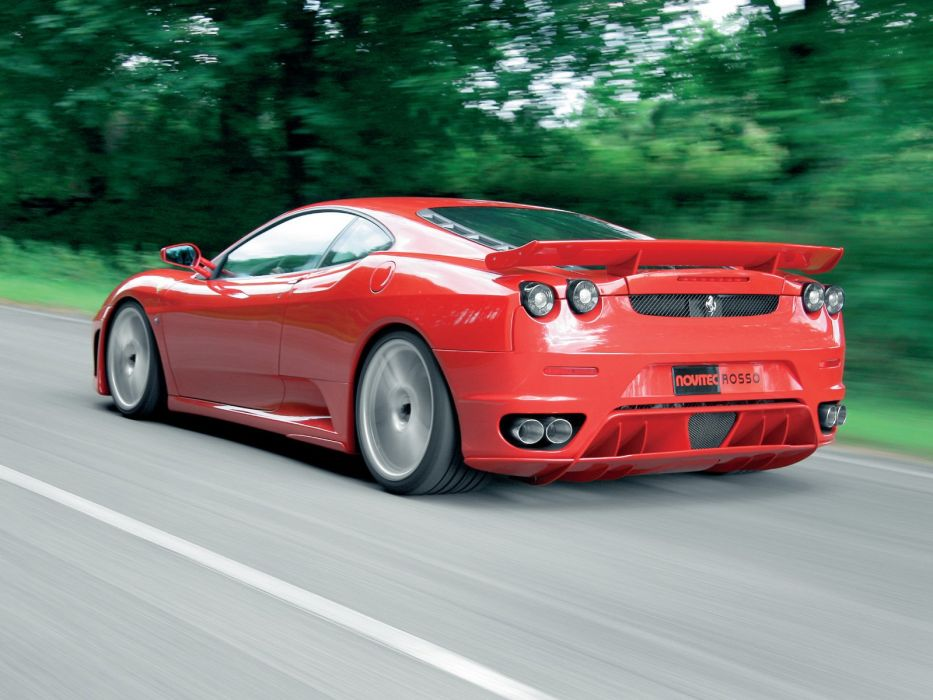 2009 Novitec Rosso Ferrari F430 supercar f wallpaper